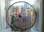Children's wheel artwork at Hugo and Holly Nursery